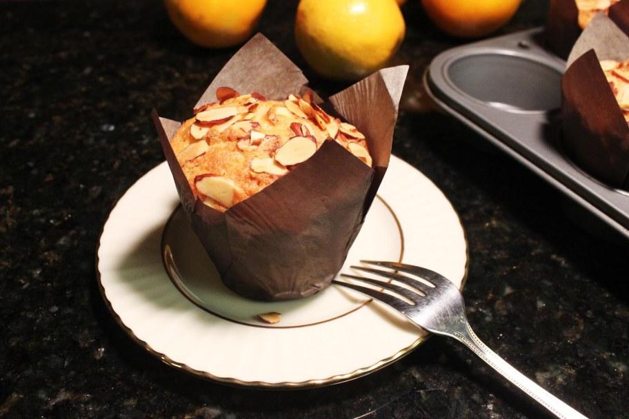 Vasilopita Cupcake Single