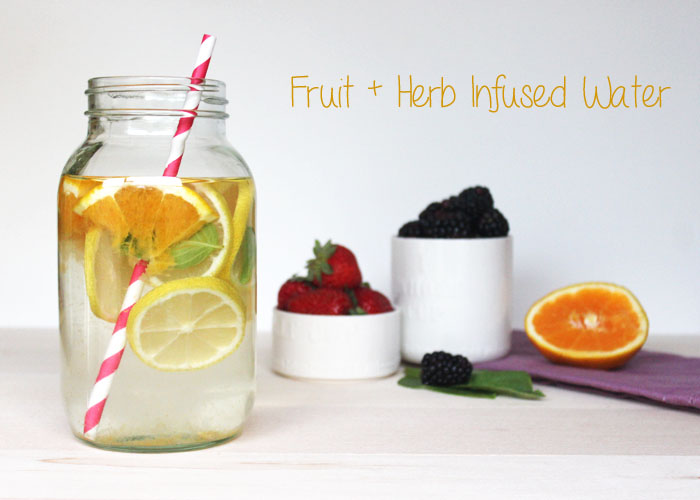 Herb-Infused Water Title