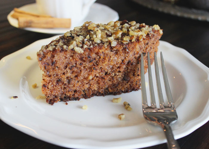 Karidopita Greek Walnut Spice Cake