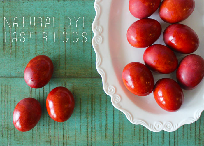Natural Dye Easter Eggs 1 + Title