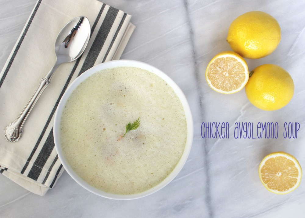 Chicken Avgolemono Soup 1 + Title