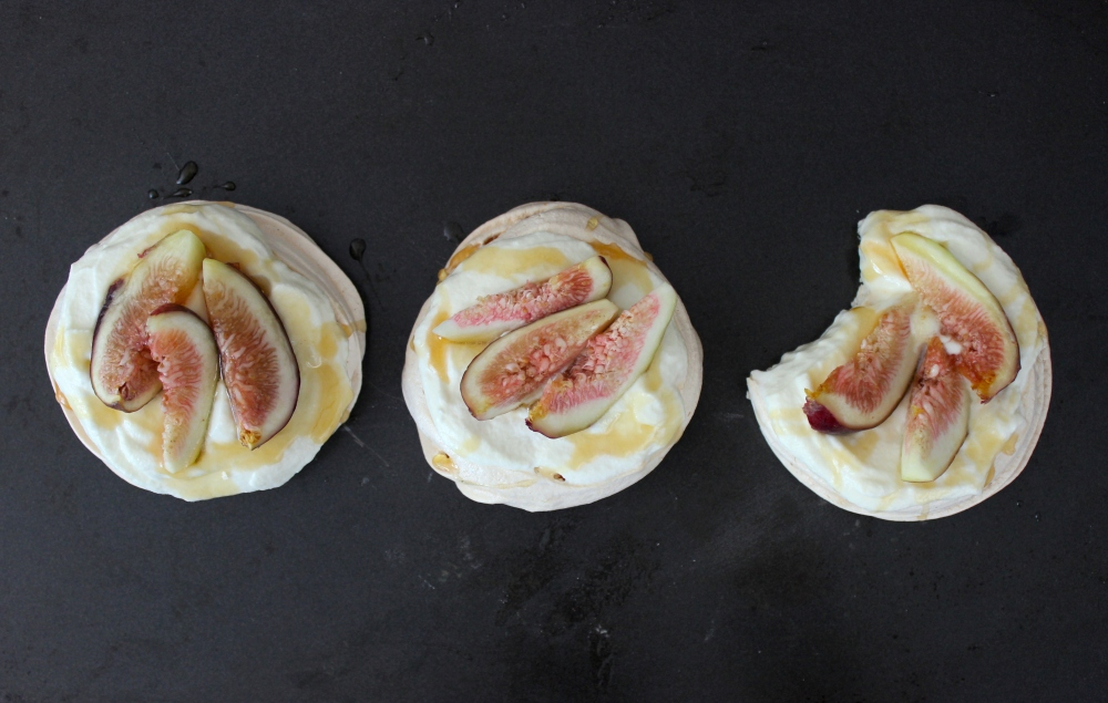 Fig & Goat Cheese Pavlova